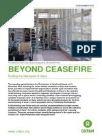Beyond Ceasefire