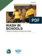 WASH in Schools