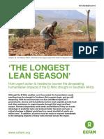 'The Longest Lean Season'