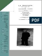La Traviata Vocal Score Piano