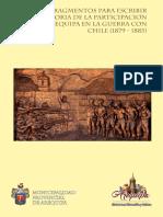 Fragmentos para Escribir la Historia de la Participación de Arequipa en la Guerra con Chile.pdf