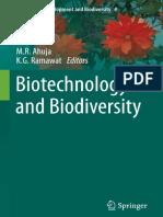 Biotechnology and Biodiversity