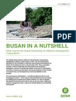 Busan in a Nutshell