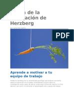 Teoría de la motivación de Herzberg.docx