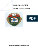 Pnp Manual Criminalistica