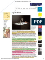 Digital Divide Contemporary Art and New Media Artforum Com by Claire Bishop Sept 2012