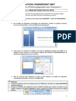 Didacticiel Powerpoint 2007
