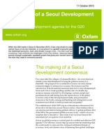 The Making of a Seoul Development Consensus