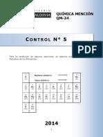 QM-24-14 Control N° 5