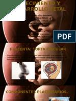 Crecimiento y Desarrollo Fetal