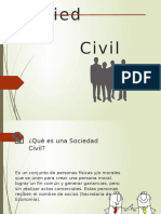 Sociedad Civil