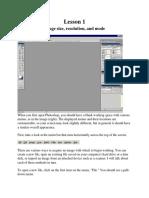 Adobe Photoshop- Lectii
