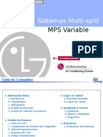 LG Sistema Multi Split MPS Variable