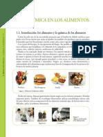 012 La Química en Los Alimentos Y AGUA en LOS ALIMENTOS 23P