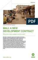 Mali: A New Development Contract: What kind of aid is needed to end the crisis?