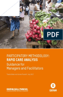Participatory Methodology: Rapid Care Analysis