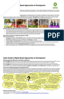 Quick Guide to Rights-Based Approaches to Development