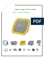 Luminhome LED Explosion Proof Light Data Sheet