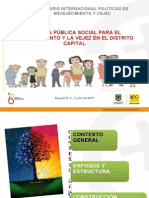 Enfoque de Derechos en la Política pública social