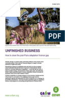 Unfinished Business: How to close the post-Paris adaptation finance gap