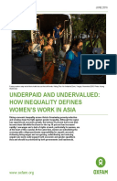 Underpaid and Undervalued: How inequality defines women's work in Asia