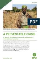 A Preventable Crisis: El Niño and La Niña events need earlier responses and a renewed focus on prevention