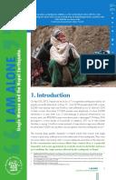 I Am Alone: Single women and the Nepal earthquake