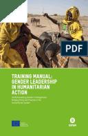 Training Manual: Gender leadership in humanitarian action
