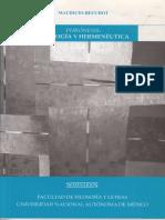 Phrónesis, Analogía y Hemenéutica