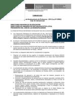 Comunicado Reporte Plazas Docentes Jul2010