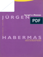 Israel o Atenas. J. Habermas