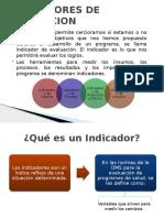 14.- Indicadores de Evaluacion