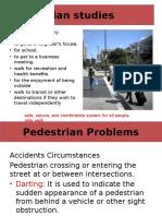 TES Pedestrians
