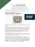DEFINICIÓN DEHIPÓTESIS