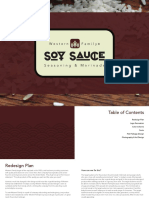 Soy Sauce Redesign