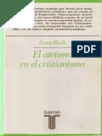 Bloch Ernst El Ateismo en El Cristianismo