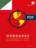Defenders Honduras Full Report Spanish Spreads
