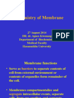 Biochemitstry of Mambrane 2014