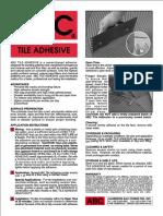 ABC Tile Adhesive