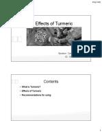 Presentation on Turmeric