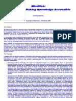 MindWeb Proposal 1987-1999