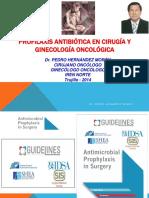Antibiótico Profilaxis Quirúrgica Dr. Hernández Nov 2016
