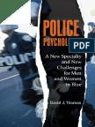 (Forensic Psychology) David J. Thomas-Police Psychology)