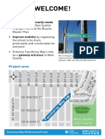 Fauntleroy Boulevard Walk Talk Boards