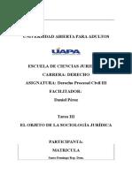 Sociologia Juridica Tarea III