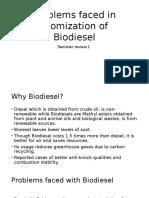 Atomization of Biodiesel