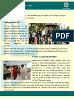 official newsletter of verbum dei luzon  no 23