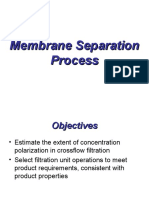 Membrane Separation Process-week 10
