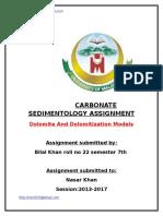 cabonate sedimentology