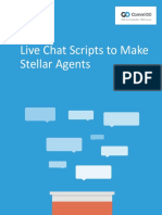 Comm100 Live Chat Scripts to Make Stellar Agents
